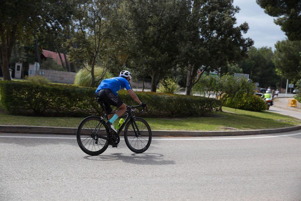 Radfahrer in  Ca'n Picafort