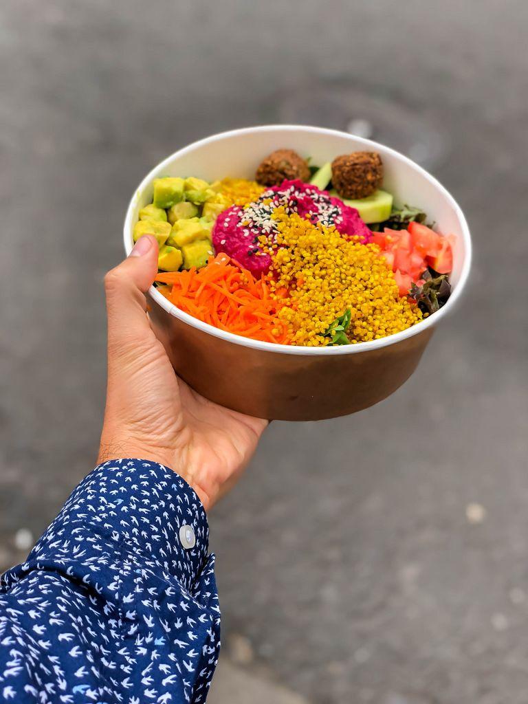 Rainbow Bowl in Hand