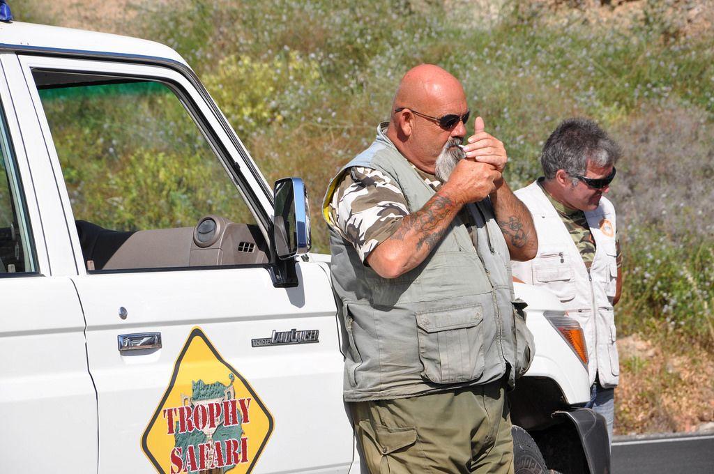 Rauchpause beim Safari auf Gran Canaria