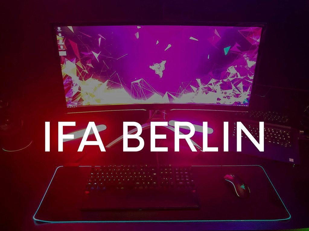 Razer Chroma Gaming PC mit Philips Hue, leuchtender Tastatur und Maus, mit dem Bildtitel