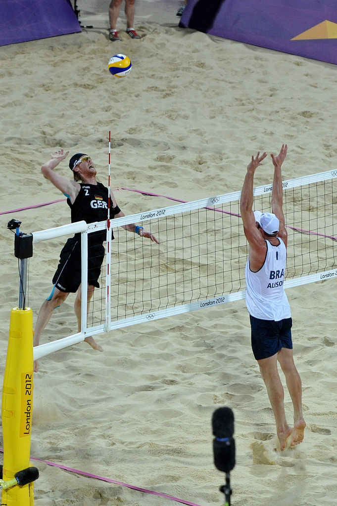 Reckermann im Beachvolleyball-Finale