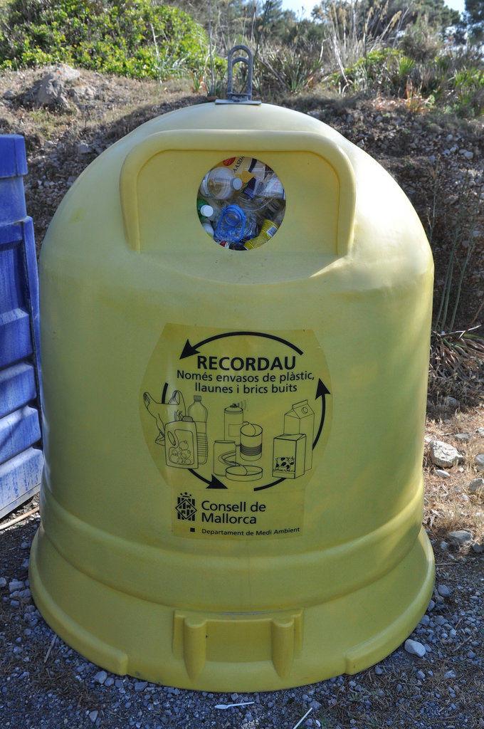 Recycling auf Mallorca