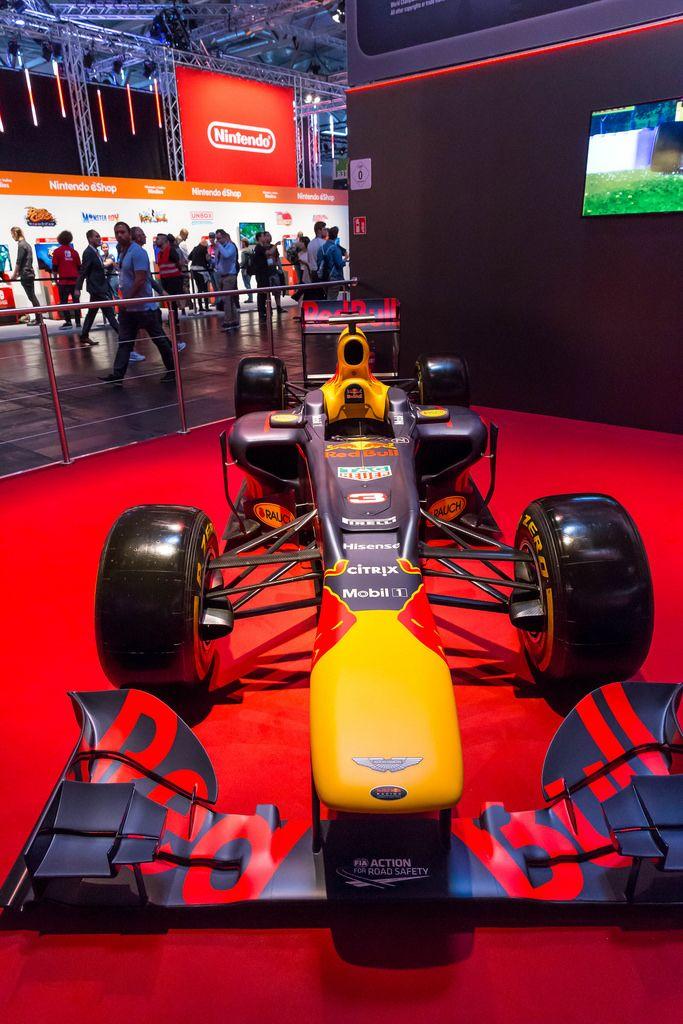 Redbull Formel-1-Wagen