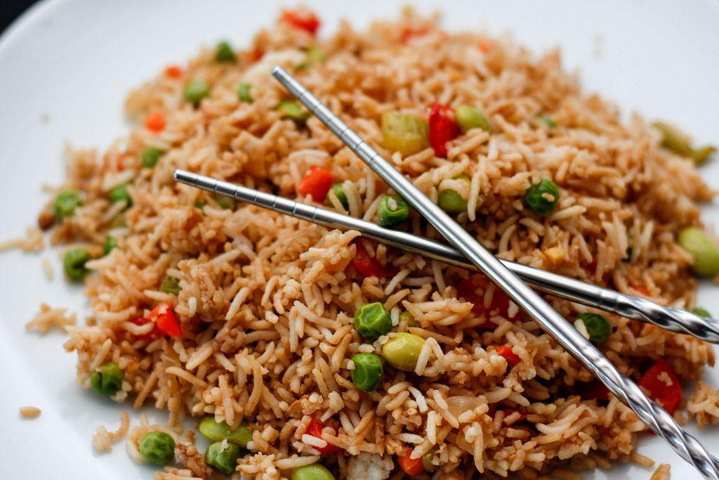 Reis auf chinesische Art, Nahaufnahme