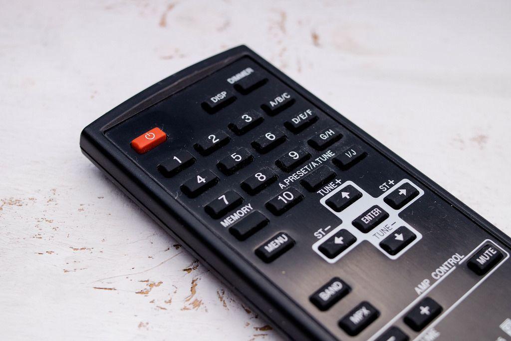 Remote control  (Fernbedienung)