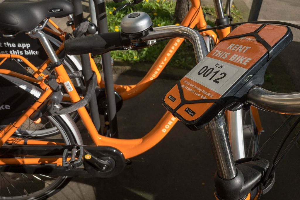 rental bikes by donkey republic