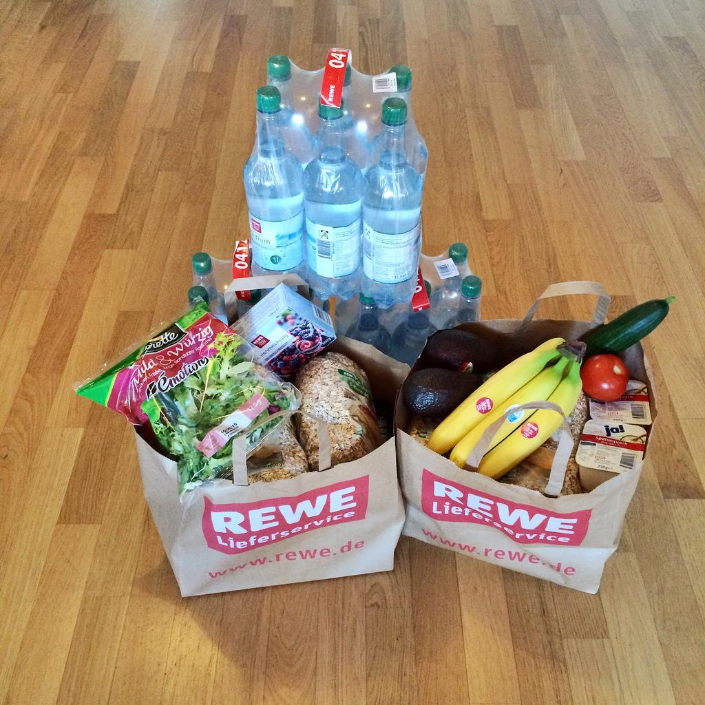 REWE-Lieferservice für Lebensmittel