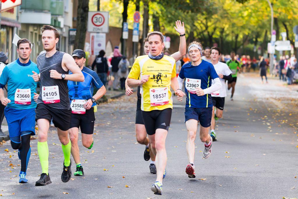 Reyer Pierre, Schmitz Dominic, Praski Robert, Weber André, Hömberg Klaus - Köln Marathon 2017
