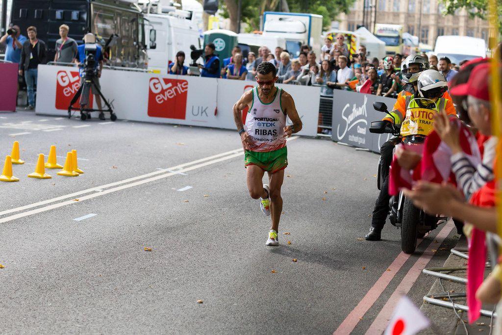Ricardo Ribas (Marathon Finale) bei den IAAF Leichtathletik-Weltmeisterschaften 2017 in London