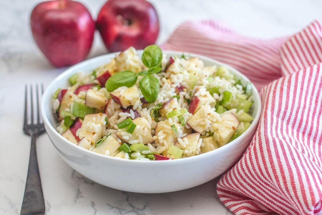 Rice Salad with Apples  (Flip 2019)