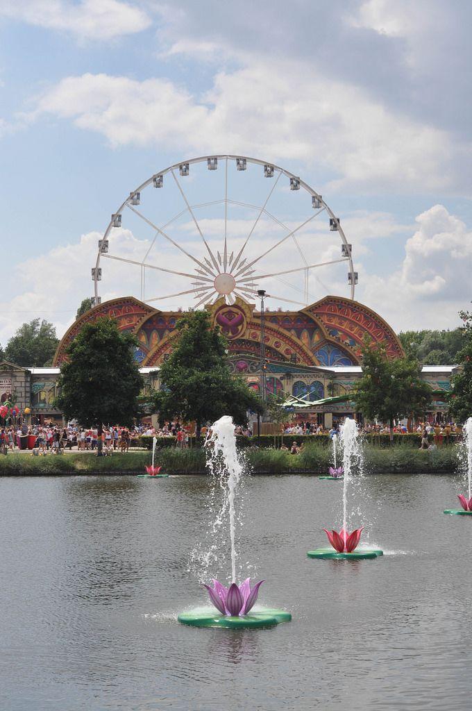 Riesenrad - Musikfestival Tomorrowland 2014