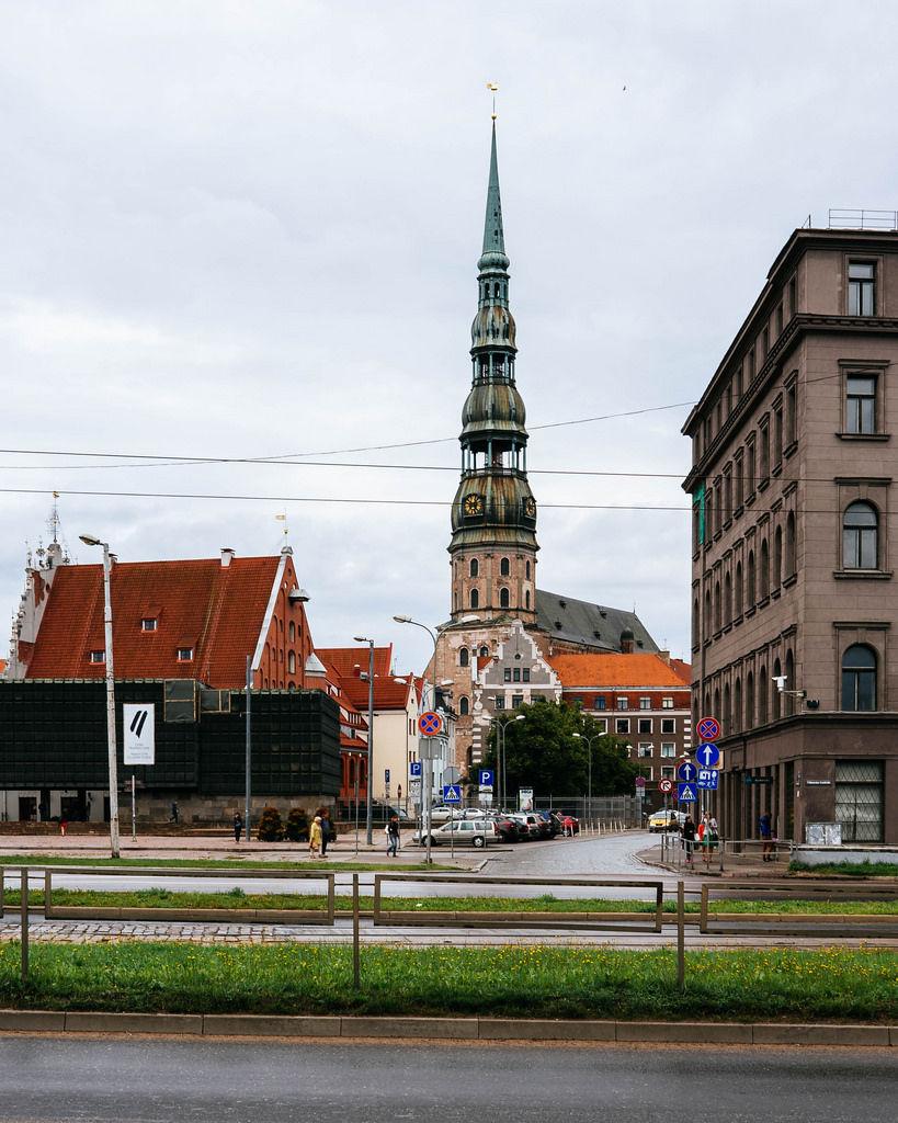 Riga's St. Peter's Church / Riga St. Peter-Kirche