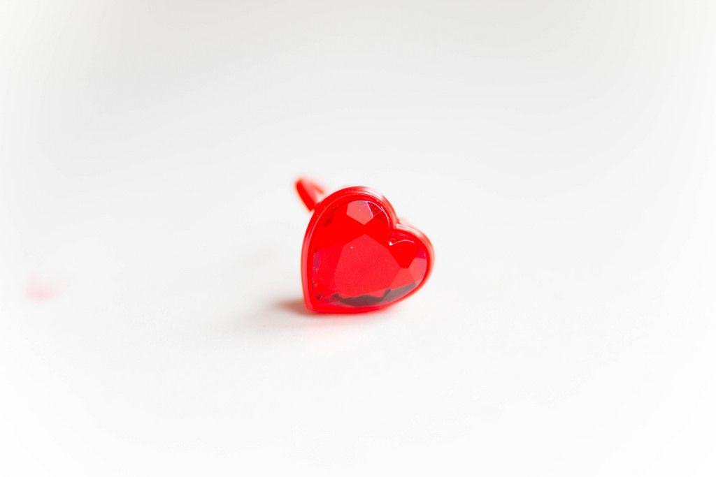 Ring mit Herz