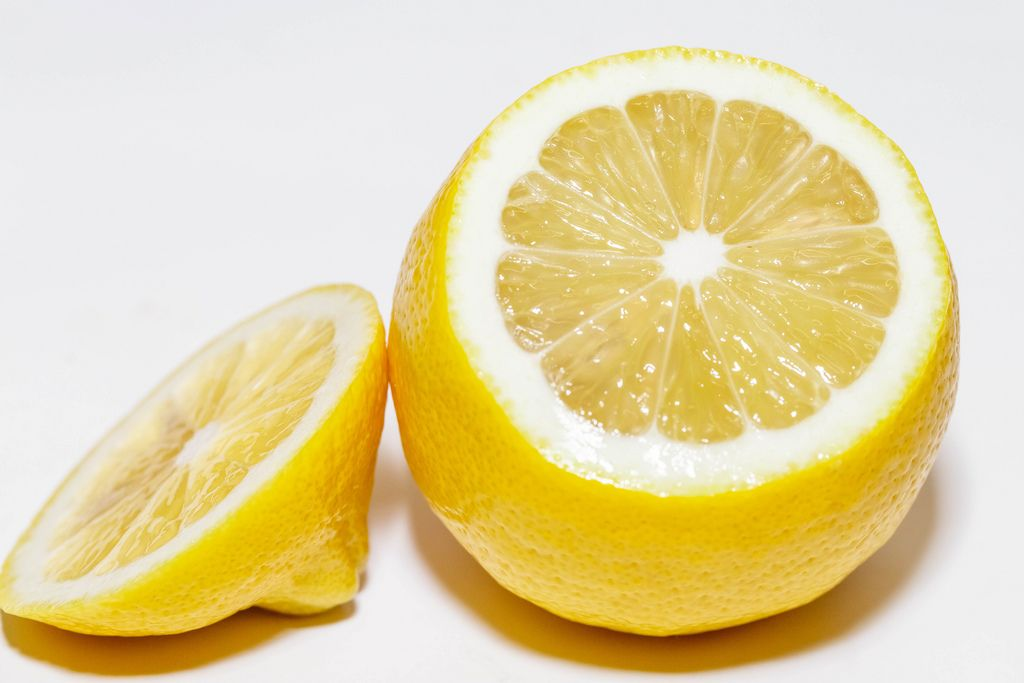Ripe yellow lemon close-up (Flip 2019) (Flip 2019) Flip 2019