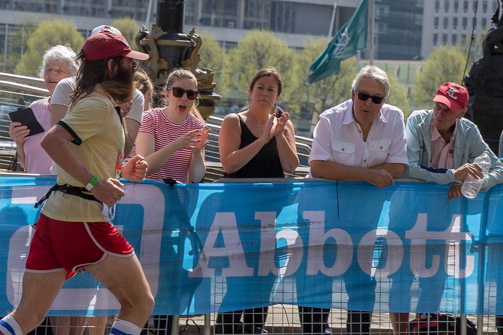 Rob Pope running - London Marathon 2018