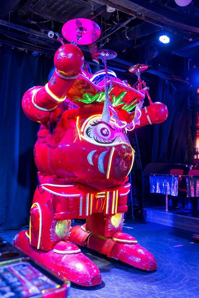 Roboter in Robot Restaurant