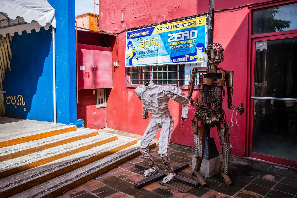 Robots Made Out of Scrap Metals