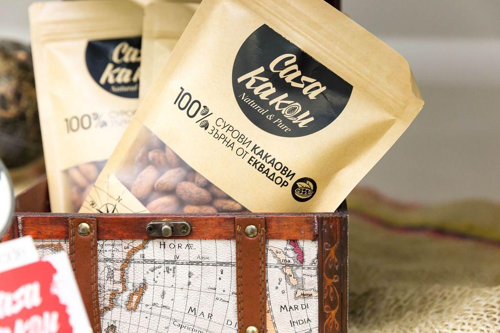 Rohe Kakao-Bohnen von Casa Kakau