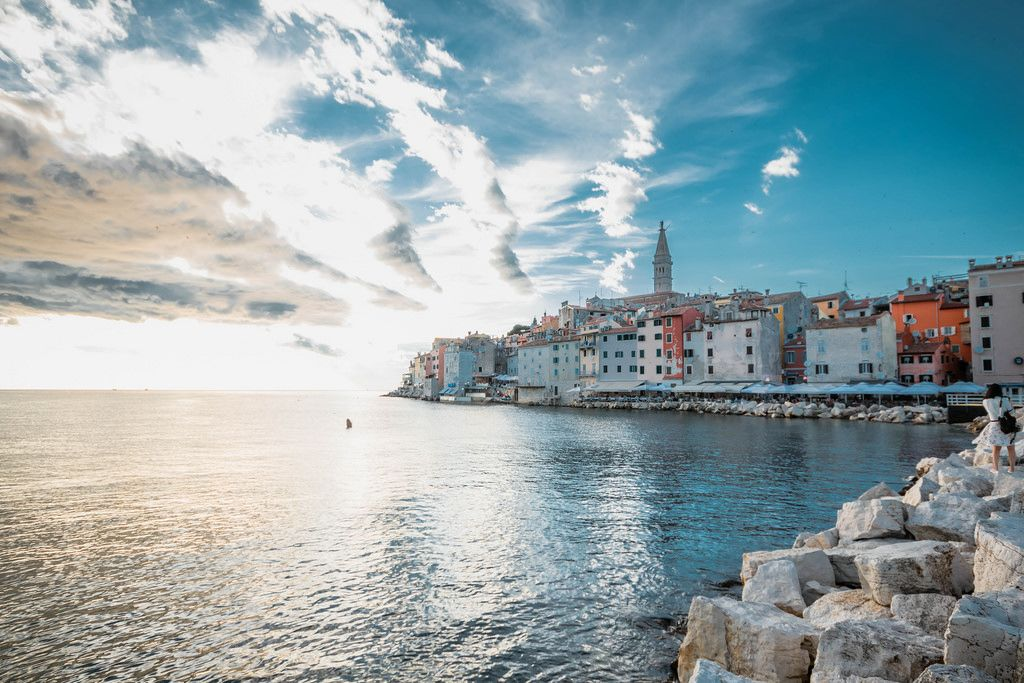 Rovinj, view from harbour