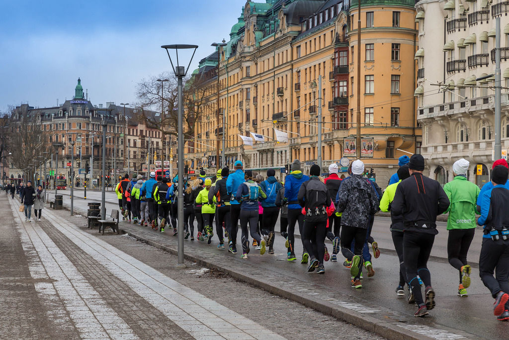 Running Groups in Stockholm