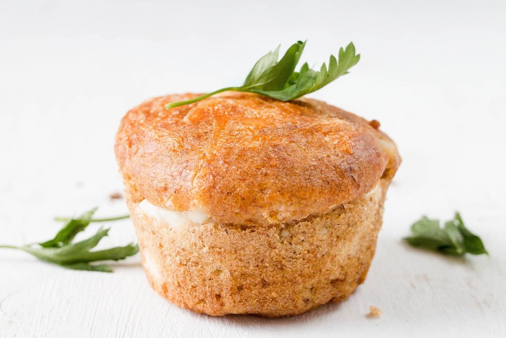 Salty Muffin with herb