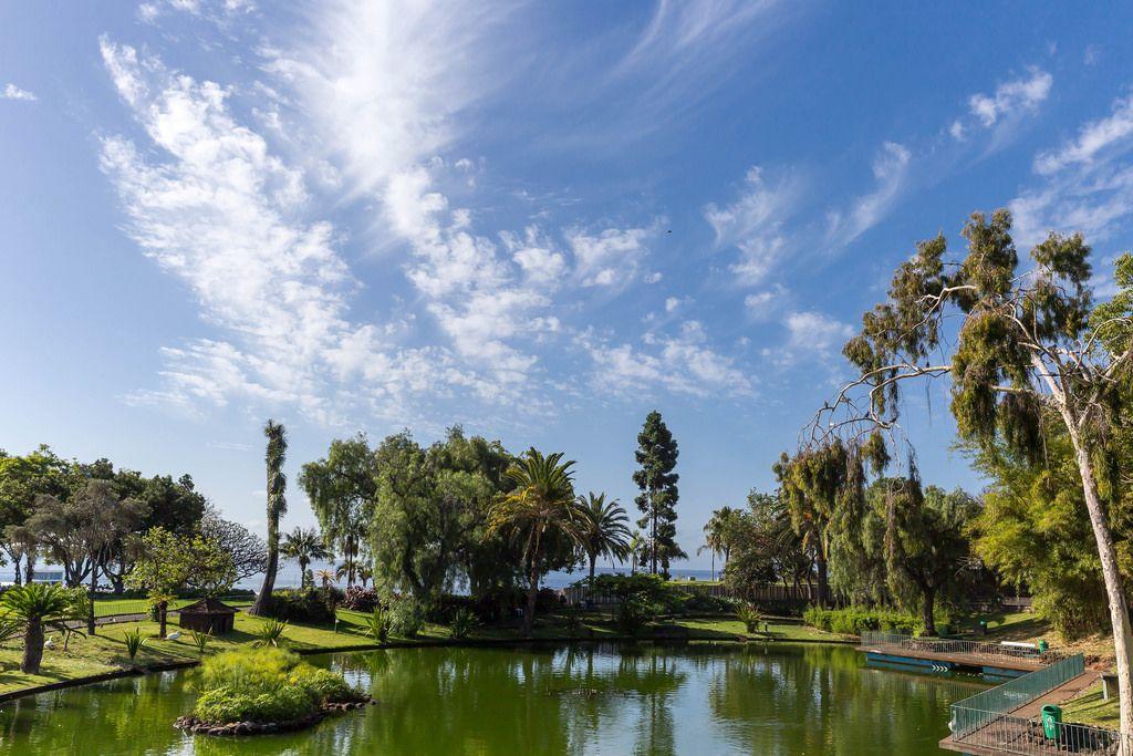 Santa Catarina Park in Funchal, Madeira