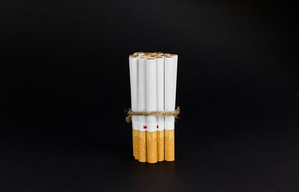 Schachtel von Zigaretten