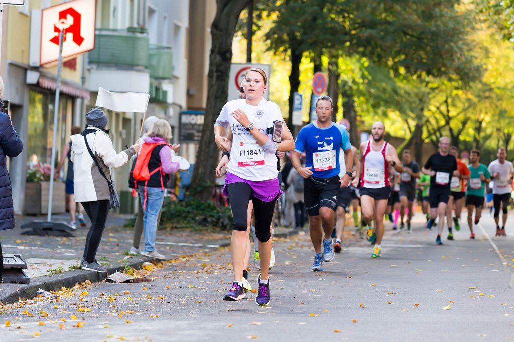 Schafhausen Anne, Harris Tim - Köln Marathon 2017