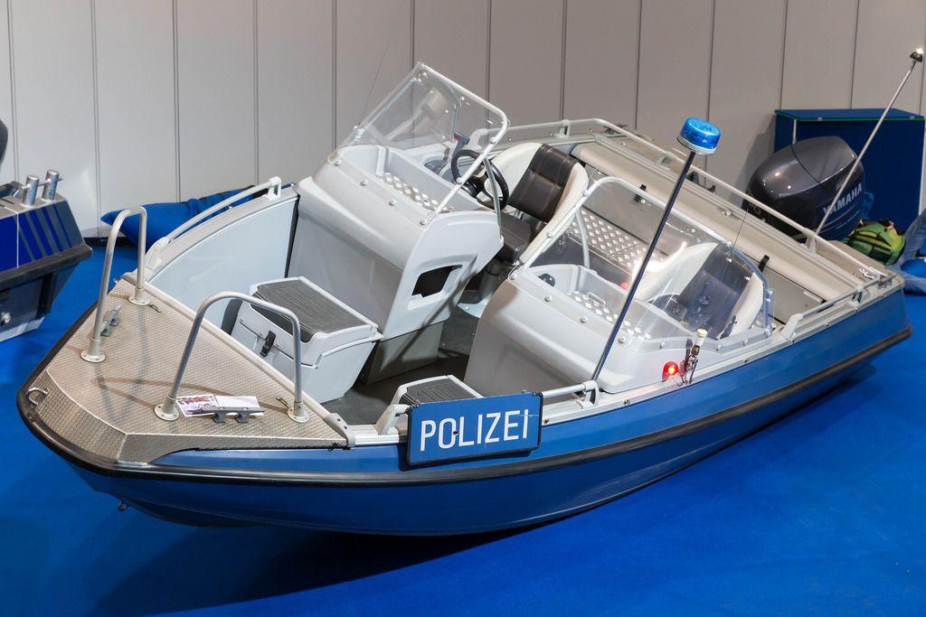Schnellboot der Wasserschutzpolizei