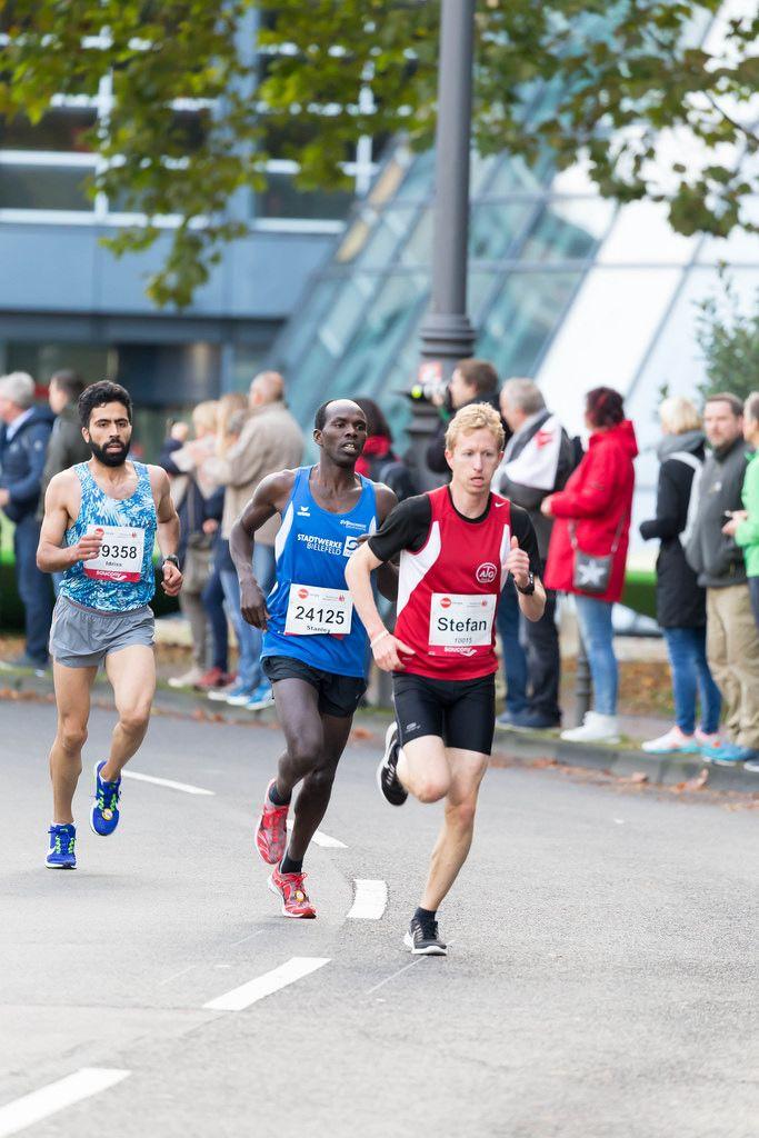 Schnorr Stefan, Kogei Stanley und Oubaha Idriss - Köln Marathon 2017