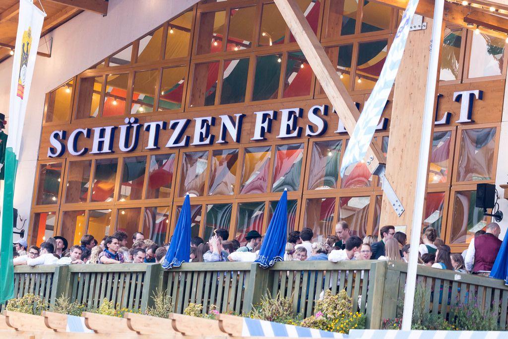 Schützenfestzelt - Oktoberfest 2017
