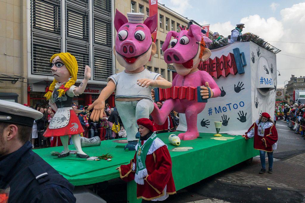 Schweinepolka und #MeToo - Kölner Karneval 2018