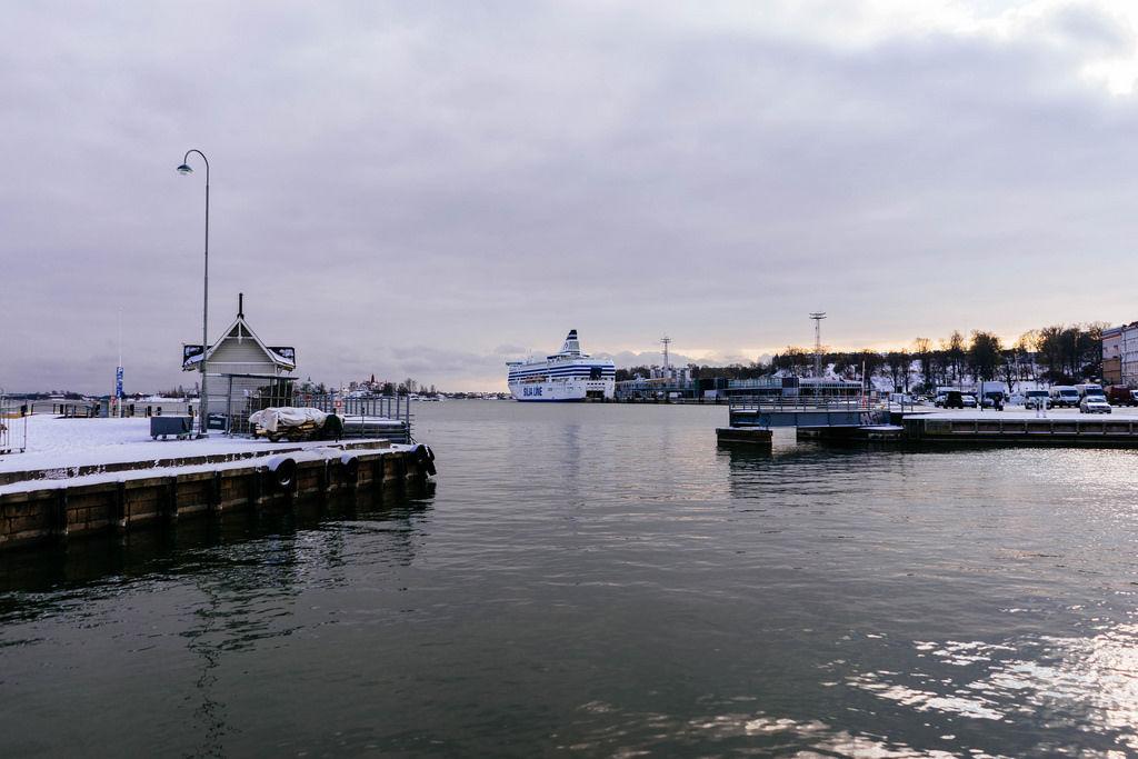 Sea port of Helsinki / Hafen von Helsinki