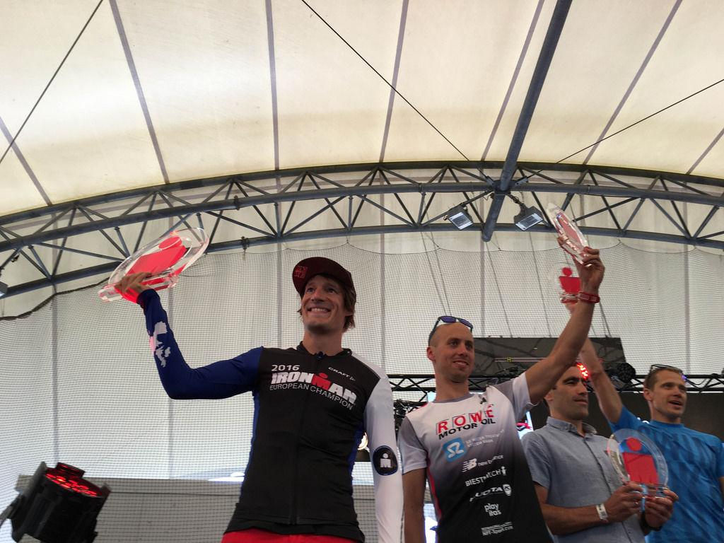Sebastian Kienle Und Andi B Cherer Beim Ironman Frankfurt 2016 Bilder Und Fotos Creative