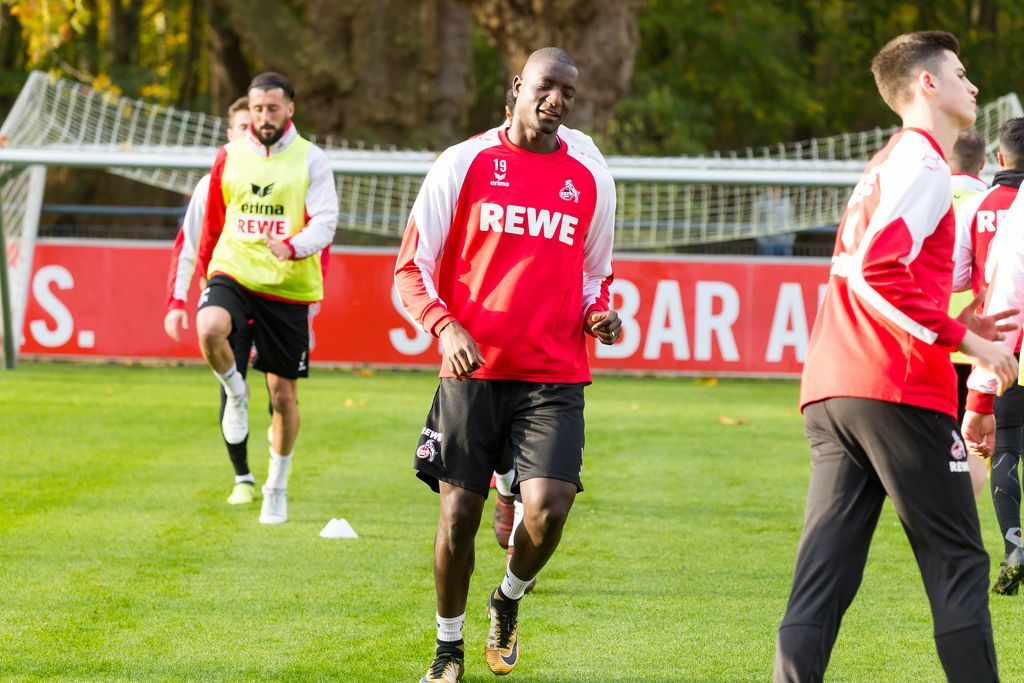Sehrou Guirassy beim Training am 13.11.2017