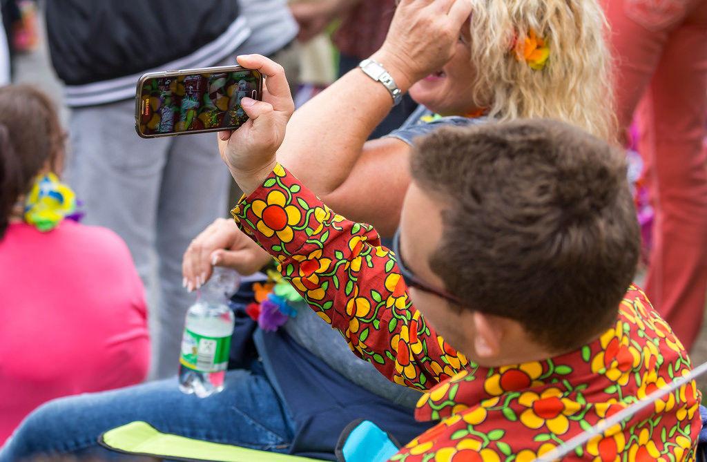 Selfie auf Schlagermove 2016