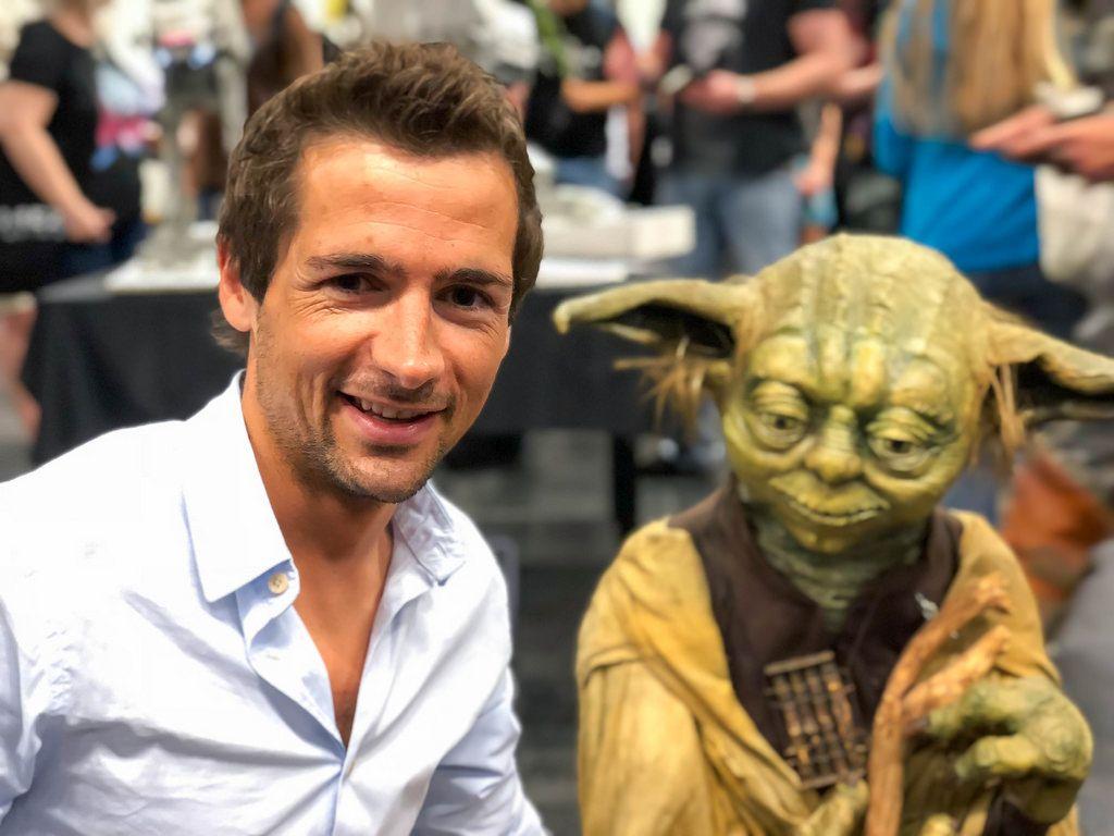 Selfie mit Yoda Du machen musst