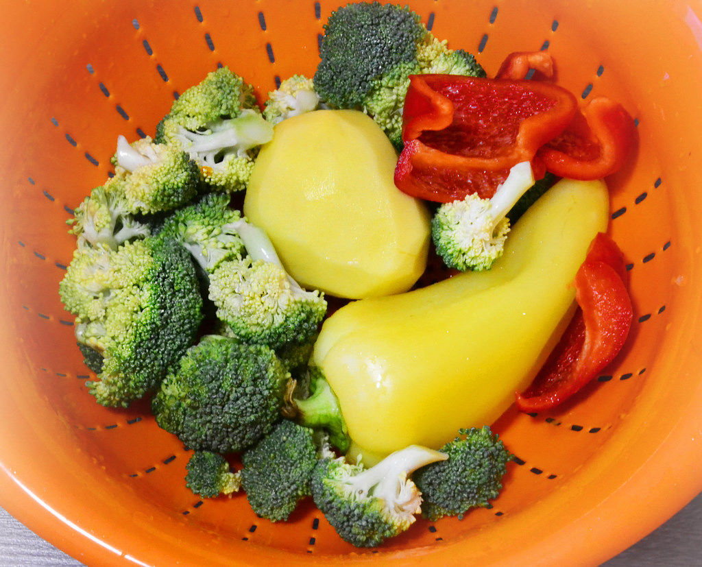 Set fur Gemüsesuppe