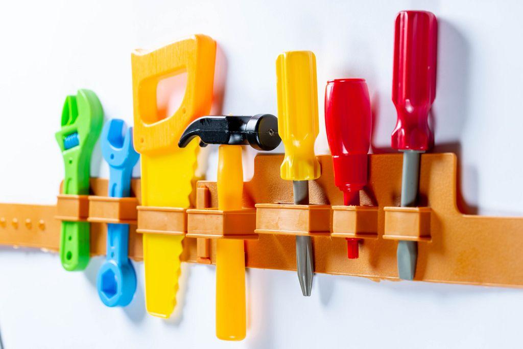 Set of children's tools