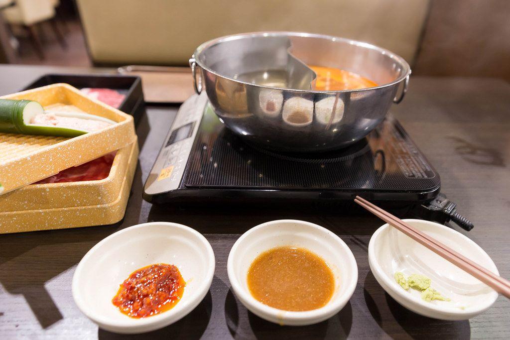 Shabu Shabu Restaurant in Tokyo