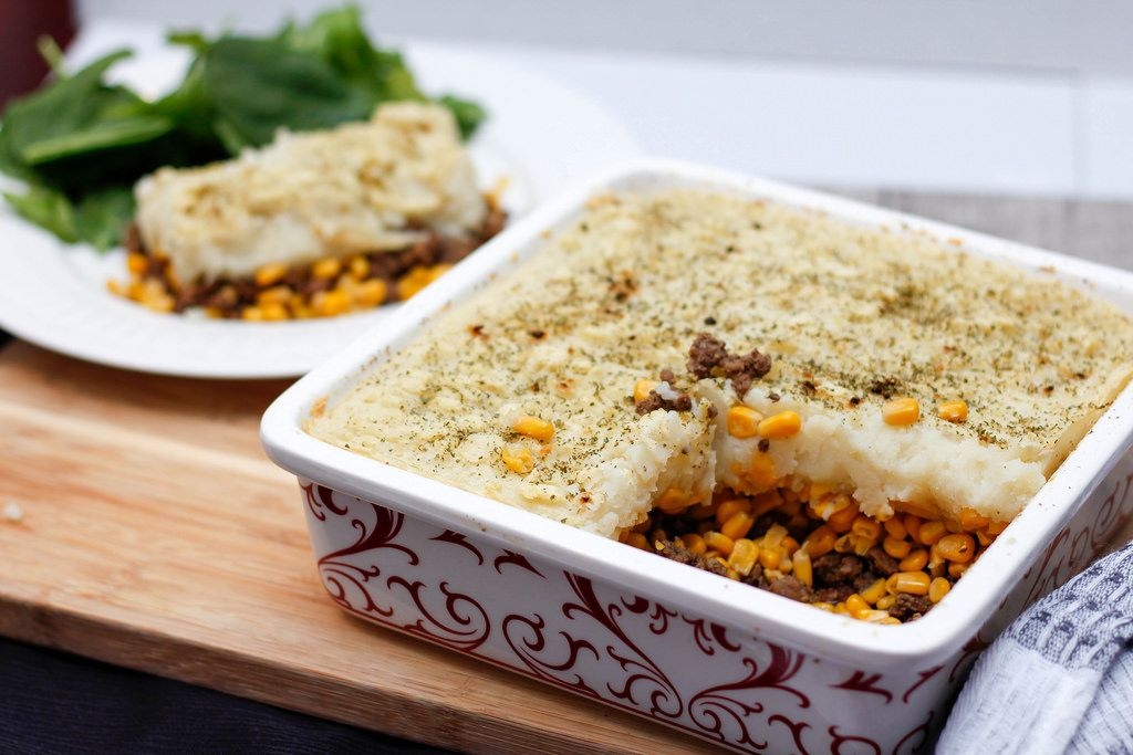 Shepperd Pie With Corn