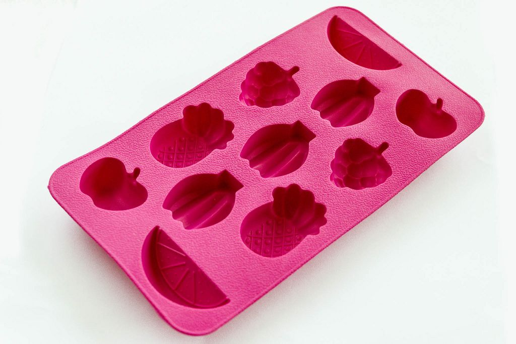 Silicone ice shapes, fruits forms