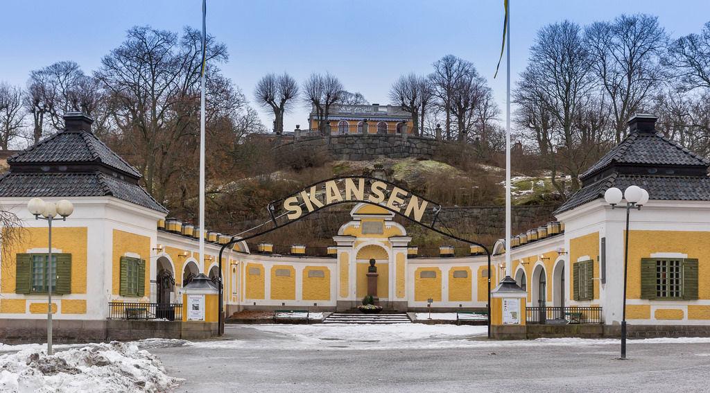 Skansen-Eingang (Entry)