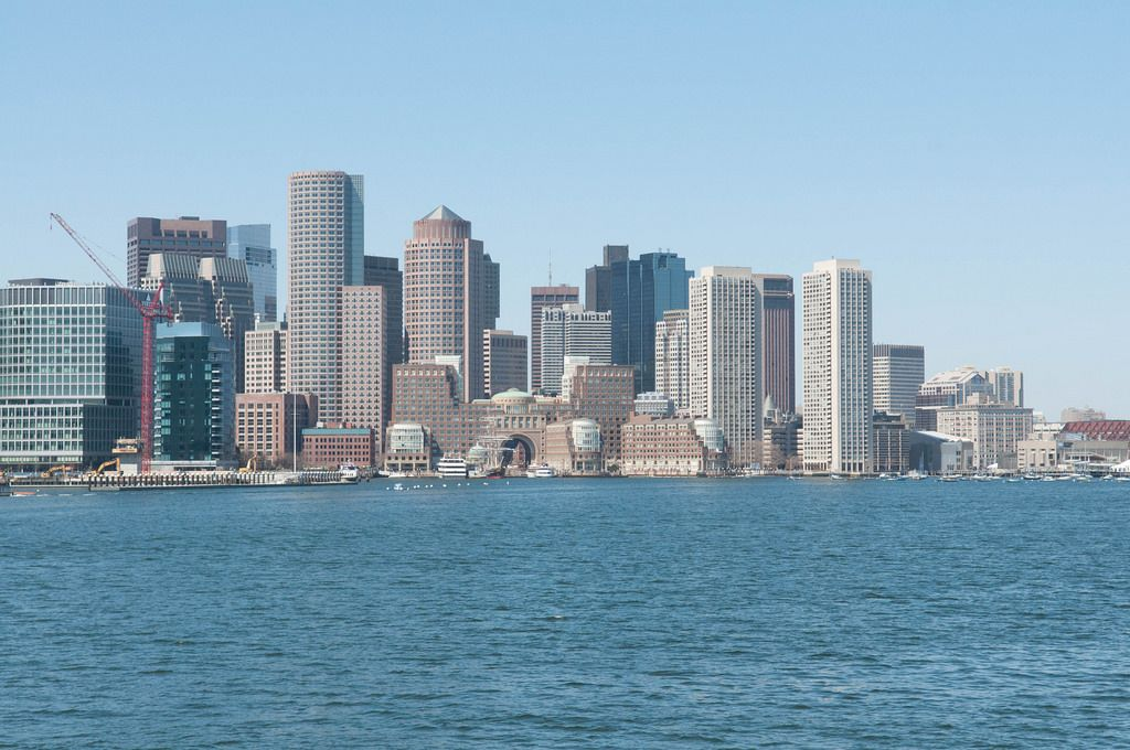 Skyline von Boston, USA