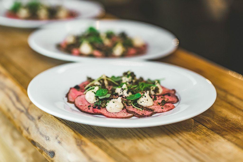 Sliced Pork Meat Salad
