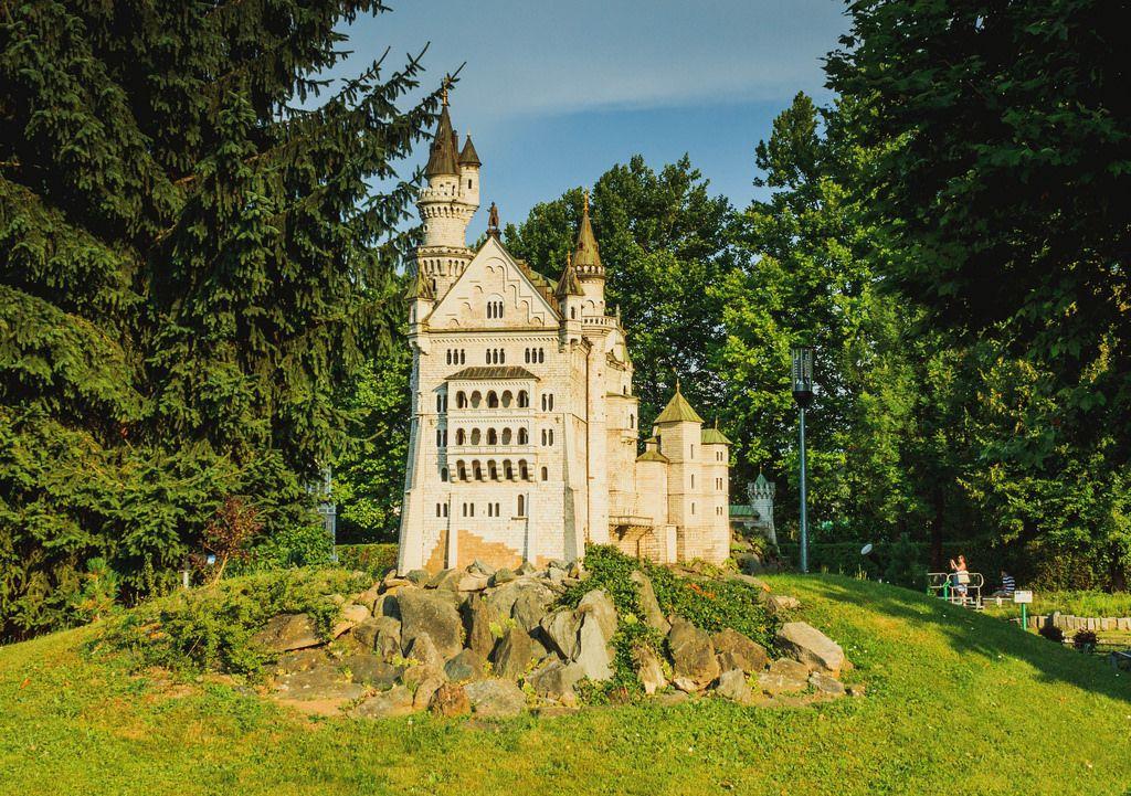 Small Neuschwanstein Castle