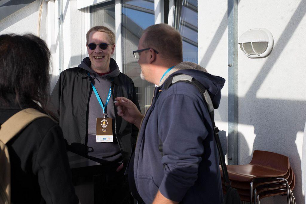 Small Talk und Networking beim WordCamp 2017