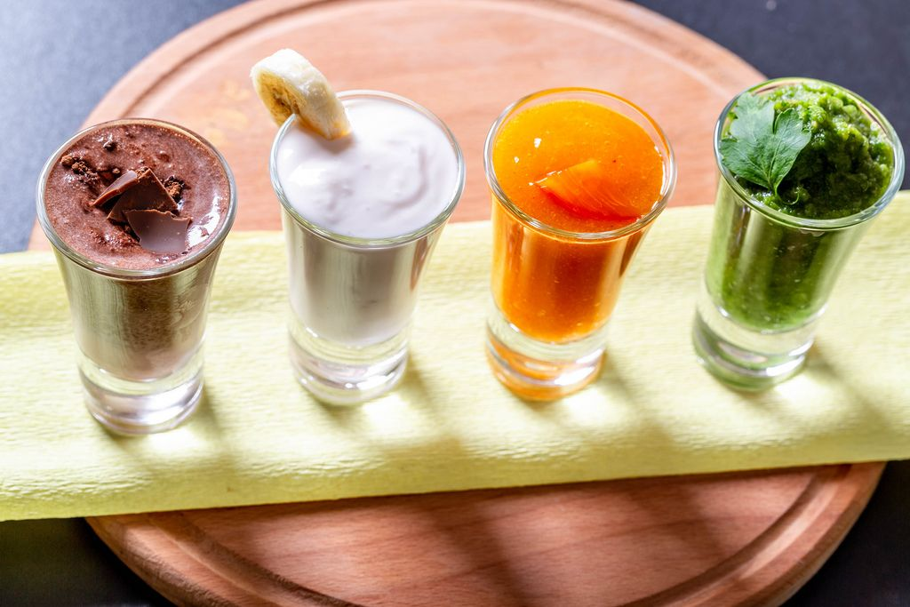 Smoothie - the concept of a healthy diet