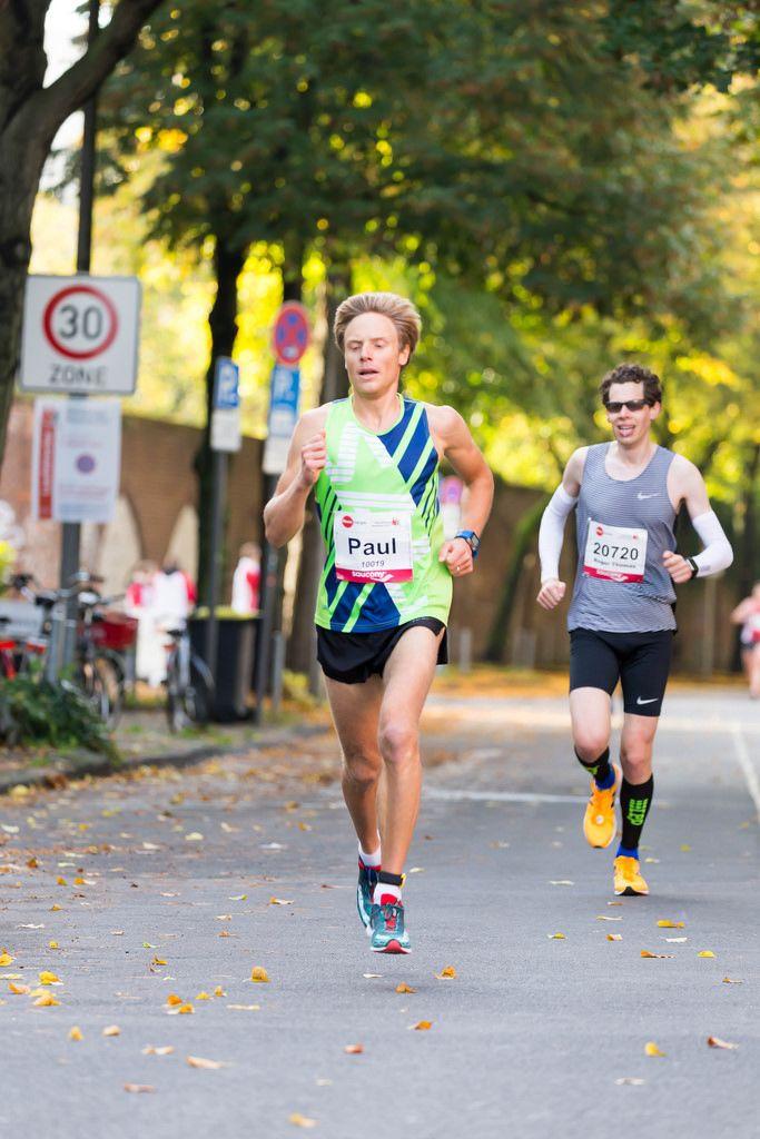 Snehotta Paul, Küng Roger Thomas - Köln Marathon 2017