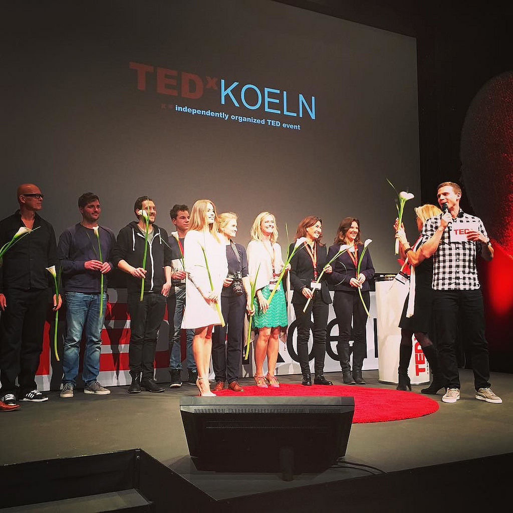 So inspiring TED talks at yesterday's @tedx Koeln. #tedx #tedxkoeln #odysseum #inspiration #entrepreneur #identity #cologne #thisiscologne #koellelive